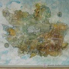 Arte: ACUARELA POR RODOLFO DEL CASTILLO (ASTILLERO 1933-FRIBURGO 1979). Lote 31233092