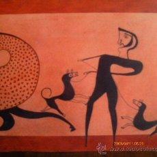 Arte: ACUARELA - TECNICA MIXTA. Lote 71191815