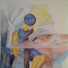 Arte: DIBUJO SOBRE PAPEL ACUARELA.. Lote 31667482