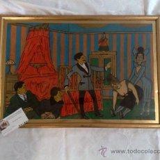 Arte: CARICATURA FIRMADA, .- F. FRESNO, Y FECHADA AÑO.-1919. Lote 32387412
