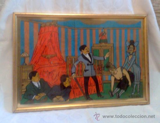 Arte: CARICATURA FIRMADA, .- F. FRESNO, Y FECHADA AÑO.-1919 - Foto 9 - 32387412