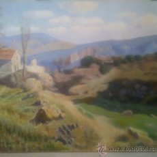 Arte: PAISAJE DE LA MUSARA DE GALOFRE SURIS 1978.. Lote 32431071
