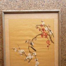 Arte: ACUARELA JAPONESA DE MUCHA CALIDAD.MAESTRO. Lote 64643807