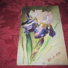 Arte: BONITA ACUARELA 1913. Lote 32896199