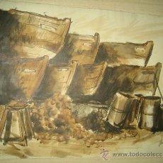 Arte: ACUARELA MARINA. Lote 33295712