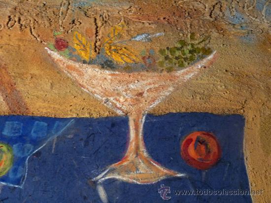 Arte: técnica mixta sobre tabla de la pintora Paz Sague Batlló.las cosas no son lo que parecen. - Foto 2 - 33791744