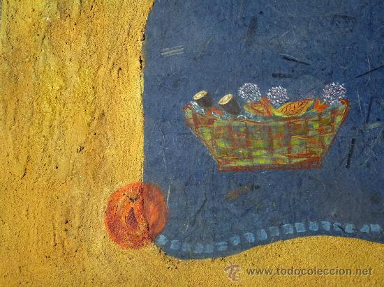 Arte: técnica mixta sobre tabla de la pintora Paz Sague Batlló.las cosas no son lo que parecen. - Foto 3 - 33791744