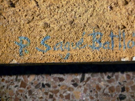 Arte: técnica mixta sobre tabla de la pintora Paz Sague Batlló.las cosas no son lo que parecen. - Foto 4 - 33791744