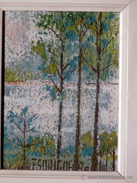 Arte: Técnica mixta de Floreal Soriguera.Pintor de terrassa - Foto 2 - 33812673