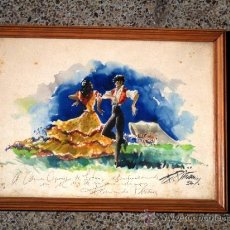 Arte: ACUARELA SOBRE PAPEL. FERNANDO PIÑANA(.BARCELONA 1911- FUENGIROLA 1975). Lote 33813017