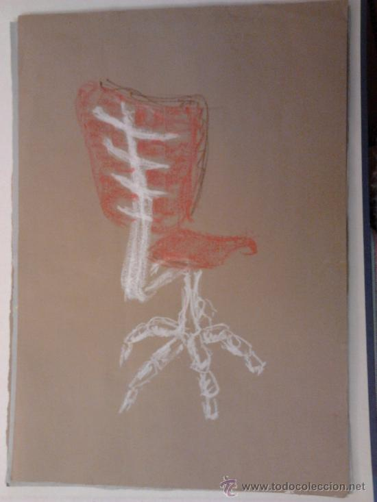 GOUACHE SOBRE PAPEL 35X51CMS (Arte - Acuarelas - Contemporáneas siglo XX)