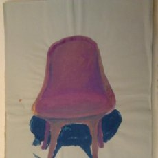 Kunst - gouache sobre papel 35x51cms firmado jorge94 - 34595263