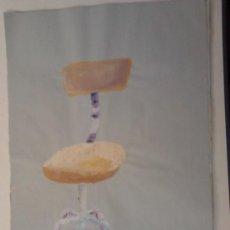 Kunst - gouache sobre papel 51x35cms - 34595282