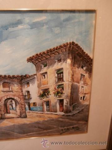 Arte: AGRADABLE ACUARELA DE P.PORTERO MARZO - Foto 3 - 34646982