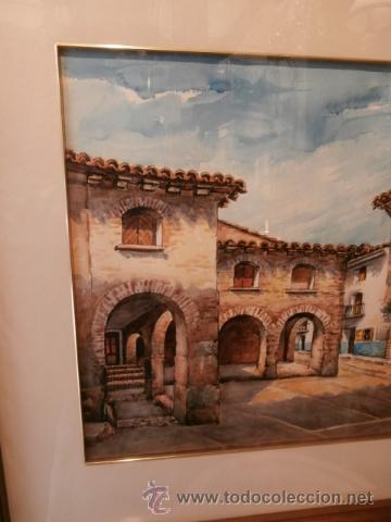 Arte: AGRADABLE ACUARELA DE P.PORTERO MARZO - Foto 4 - 34646982