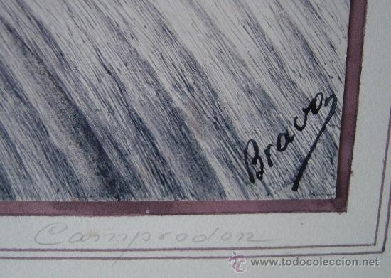 Arte: Bravo, acuarela, vistas de Camprodon (Girona) Mediados del siglo XX - Foto 4 - 34728903