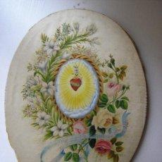 Arte: ANITA ARMENGOL Y BAXERAS MM ESCOLAPIAS DE VENDRELL 1890 - PINTADO SOBRE SEDA . Lote 34860794