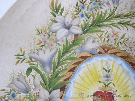 Arte: ANITA ARMENGOL Y BAXERAS MM ESCOLAPIAS DE VENDRELL 1890 - PINTADO SOBRE SEDA - Foto 4 - 34860794