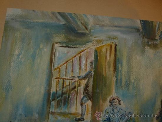 Arte: ACUARELA-FIRMA ILEGIBLE - PERSONAJES - Foto 4 - 34973745