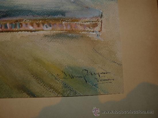 Arte: ACUARELA-FIRMA ILEGIBLE - PERSONAJES - Foto 5 - 34973745
