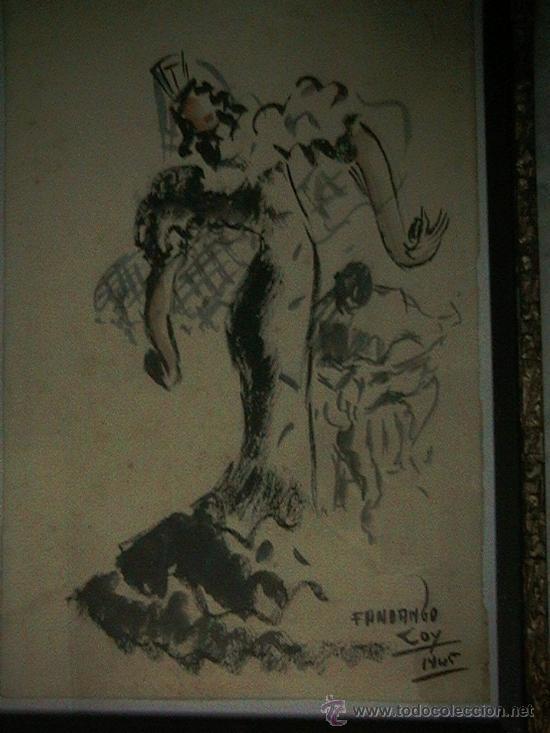 Arte: acualera bailarina flamenco - Foto 3 - 35359152