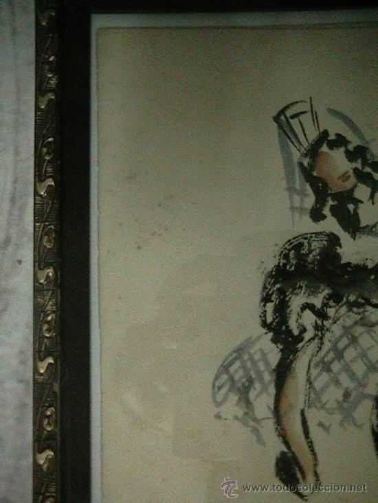 Arte: acualera bailarina flamenco - Foto 5 - 35359152