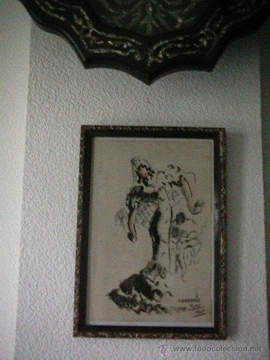 Arte: cuadro colgado en la pared debajo de un reloj - Foto 7 - 35359152