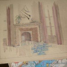 Arte: BONITA ACUARELA FIRMADA POR¡¡ JOSE GARCIA SEGURA¡¡ DE SEVILLA. Lote 35555775