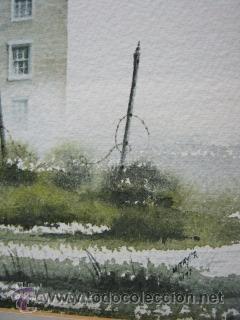 Arte: Bella pintura acuarela Michael J. Taylor - Edificio - Foto 4 - 35497659