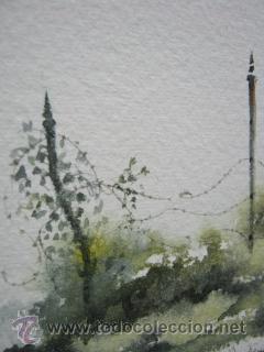 Arte: Bella pintura acuarela Michael J. Taylor - Edificio - Foto 5 - 35497659