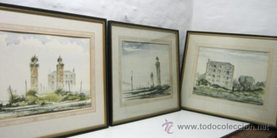 Arte: Bella pintura acuarela Michael J. Taylor - Edificio - Foto 12 - 35497659