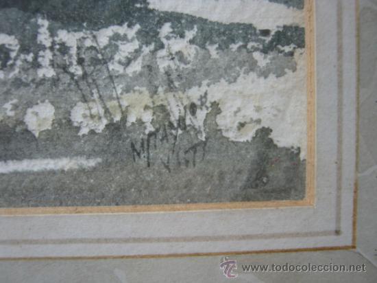 Arte: Caprice - Exquisita Acuarela inglesa - firmada - Foto 7 - 35497524