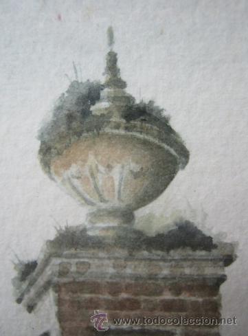 Arte: Caprice - Exquisita Acuarela inglesa - firmada - Foto 4 - 35497524