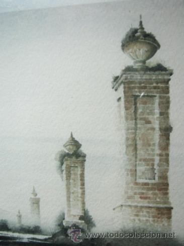 Arte: Caprice - Exquisita Acuarela inglesa - firmada - Foto 3 - 35497524