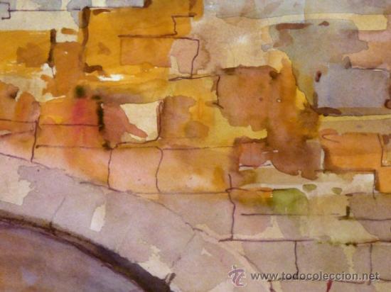 Arte: bonita acuarela.Miquel Torné (padre del pintor Miquel Torné de Semir). - Foto 6 - 36021248