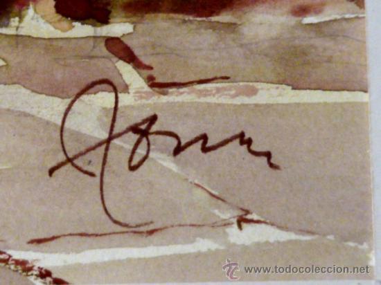 Arte: bonita acuarela.Miquel Torné (padre del pintor Miquel Torné de Semir). - Foto 7 - 36021248