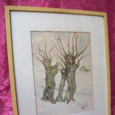 Arte: PAISAJE HOLANDÉS S.XIX?. Lote 36418722