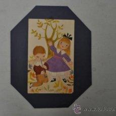 Arte: JULITXU. GOUCHE INFANTIL. . Lote 36916100