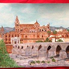 Arte: ACUARELA CIUDAD DE CORDOBA . Lote 36958002