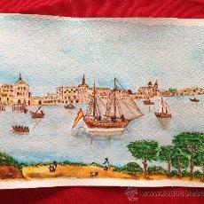 Arte: ACUARELA TEMATICA HISTORICA. Lote 36958407