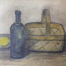 Arte: INTERESANTE BODEGÓN DE FINALES DEL SIGLO XIX, FIRMADO R. BISCHOFF, MEDIDAS: 33X 24 CM. Lote 37114694