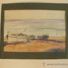 Arte: ACUARELA DE DIONIS ROMEU.. Lote 37264127