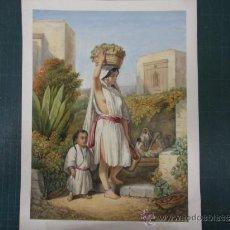 Arte: ANONIMO. PERSONAJES MEXICANOS. Lote 37500562