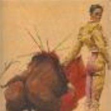 Arte: TAUROMAQUIA. ORIGINAL EN ACUARELA DE FUSER DEL TORERO CHAMACO. 41 X 33 CM.. Lote 37544920
