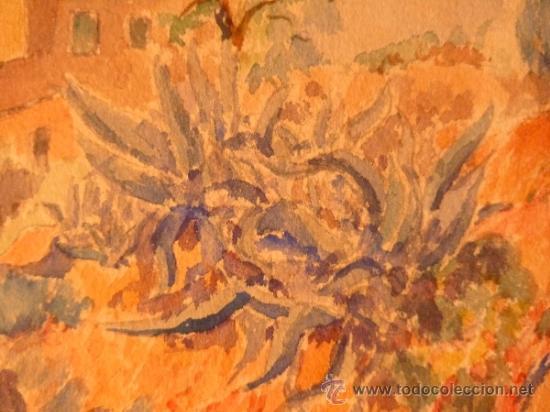 Arte: acuarela sobre papel.Firma ilegible. - Foto 3 - 38099298