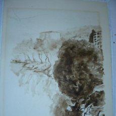 Arte: ACUARELA- AGUADA - FIRMADA MILLET - PAISAJE. Lote 39490125