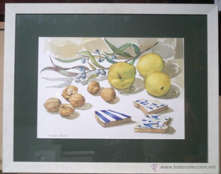 Arte: Acuarela de Jordi Orriols Marsan, pintor de Sabadell - Foto 2 - 39505672