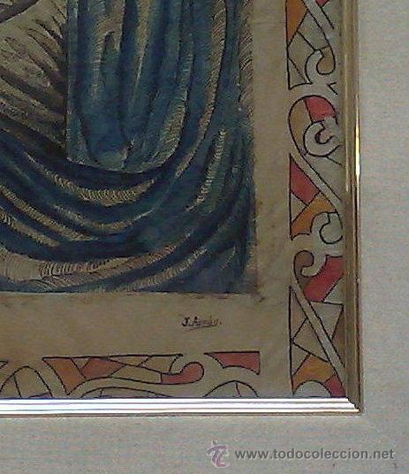 Arte: FIRMADO.- J. ARNÁU. PLUMILLA / ACUARELA. - Foto 10 - 33635924