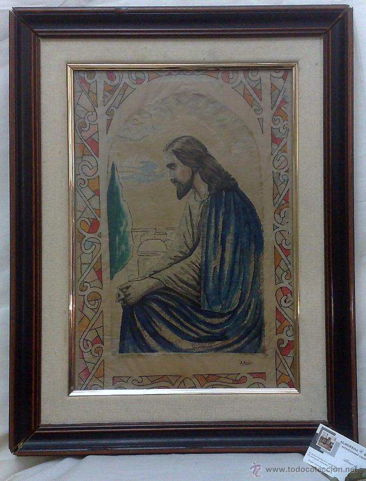 FIRMADO.- J. ARNÁU. PLUMILLA / ACUARELA. (Arte - Acuarelas - Modernas siglo XIX)
