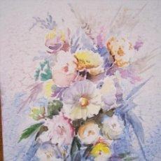 Arte: ACUARELA DE JESUS PEÑARREAL (BURGOS 1930 - BENIDORM 2008). Lote 39779858